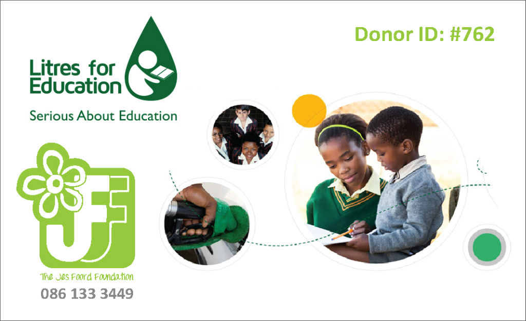 Jes Foord Foundation Partners with Litres for Education in a new exciting fundraising venture