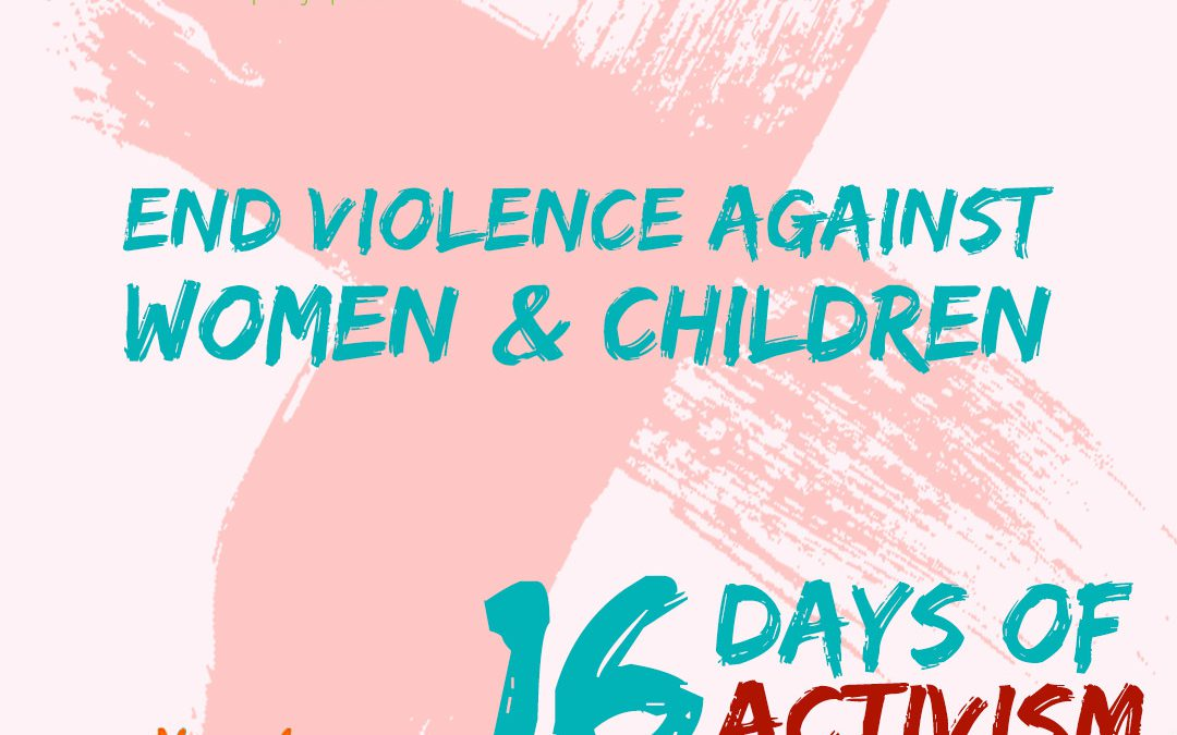 16 Days of Activism 2018